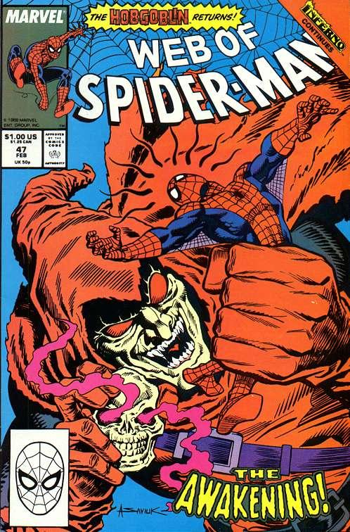 O Duende Macabro enfrenta o Homem-Aranha novamente em 1989.