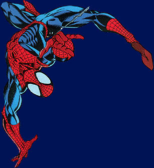 Spider Man disegnato da Mark Bagley