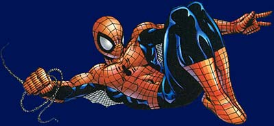Spider Man disegnato da Mark Buckingham