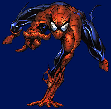 Spider Man disegnato da Mike Deodato Jr.